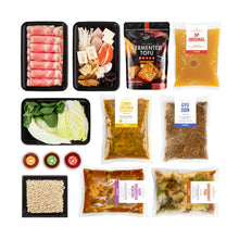 Hot Pot Kit x2 : Broths and Instant Packs Combo