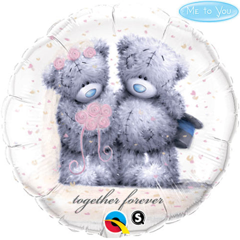 18 inch Tatty Teddy Together Forever Foil Balloon