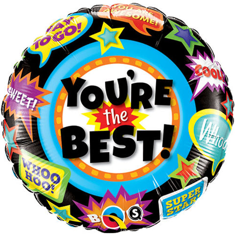 18 inch You\'re The Best Accolades Foil Balloon