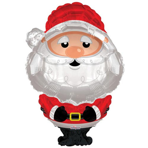 36 inch Father Christmas Foil Balloon