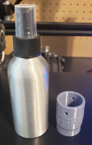 2 oz and 4 oz spray bottle threaded insert
