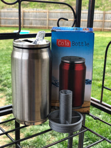 Cola can threaded insert