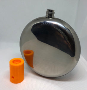 5oz round flask threaded insert