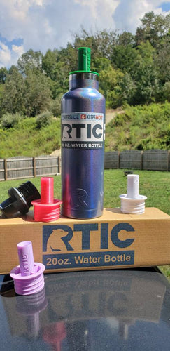 Threaded insert for RTIC bottles 16, 20 and 26 oz, hydroflask 21oz bottle, and Twelve Bees milk bottles