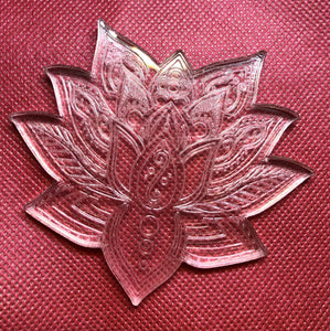 Lotus flower mold (mold pictures coming)