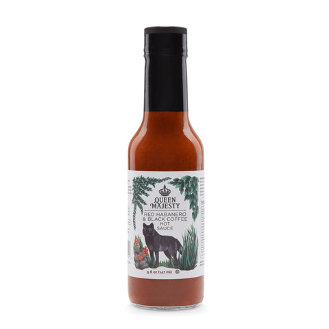 05 • Red Habanero & Black Coffee Hot Sauce 5oz.