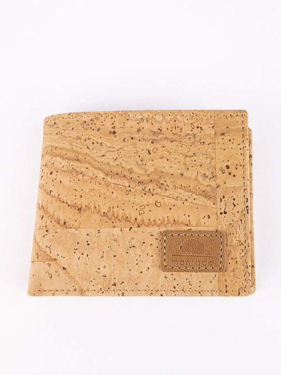 Small men's cork wallet