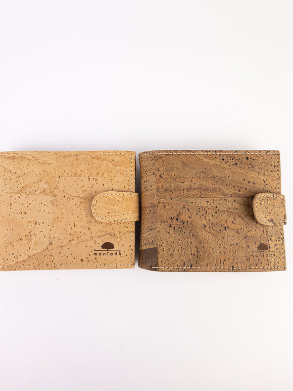 Max men's wallet in cork