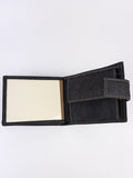 Black cork men's wallet