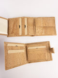 Men's cork wallet