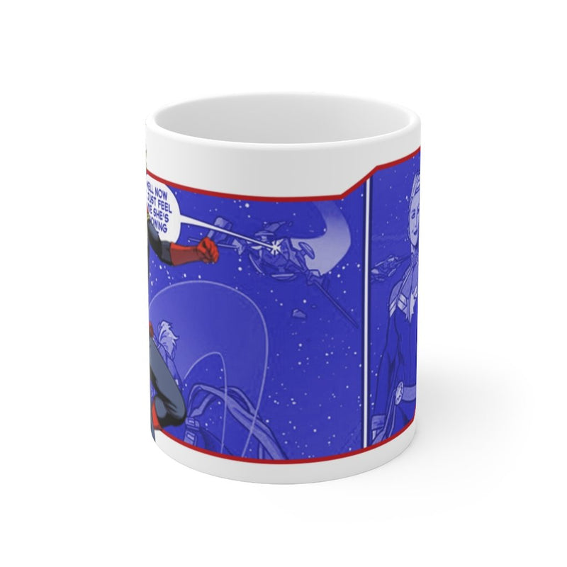 Captain Marvel Coffee Mug