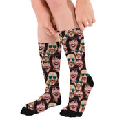 Socks with Faces, Custom Socks Gift for Couple