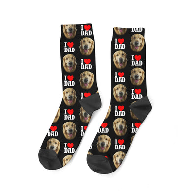 Custom Dog Dad Socks