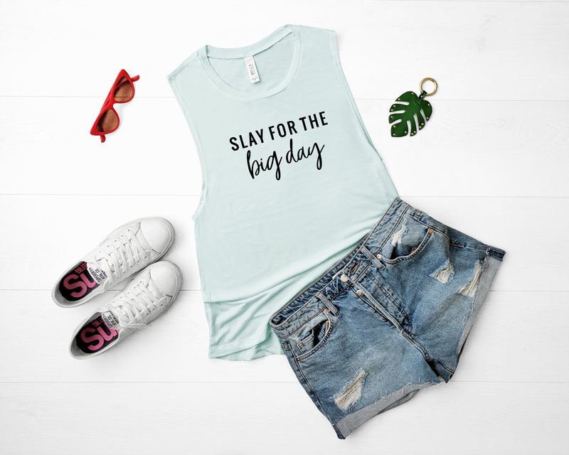 slay for big day tank top