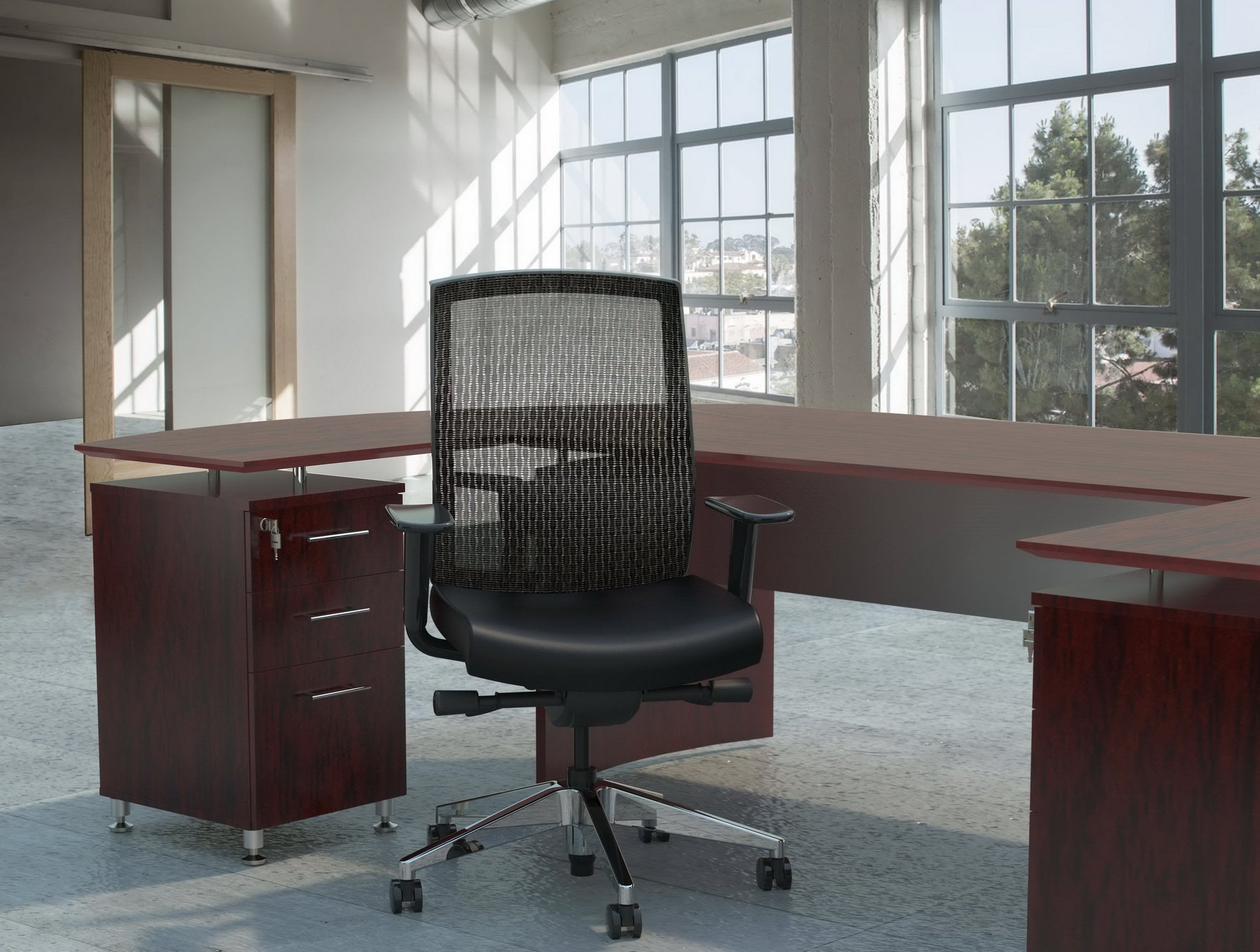 Leather vs Mesh Office Chairs: What's the Difference?