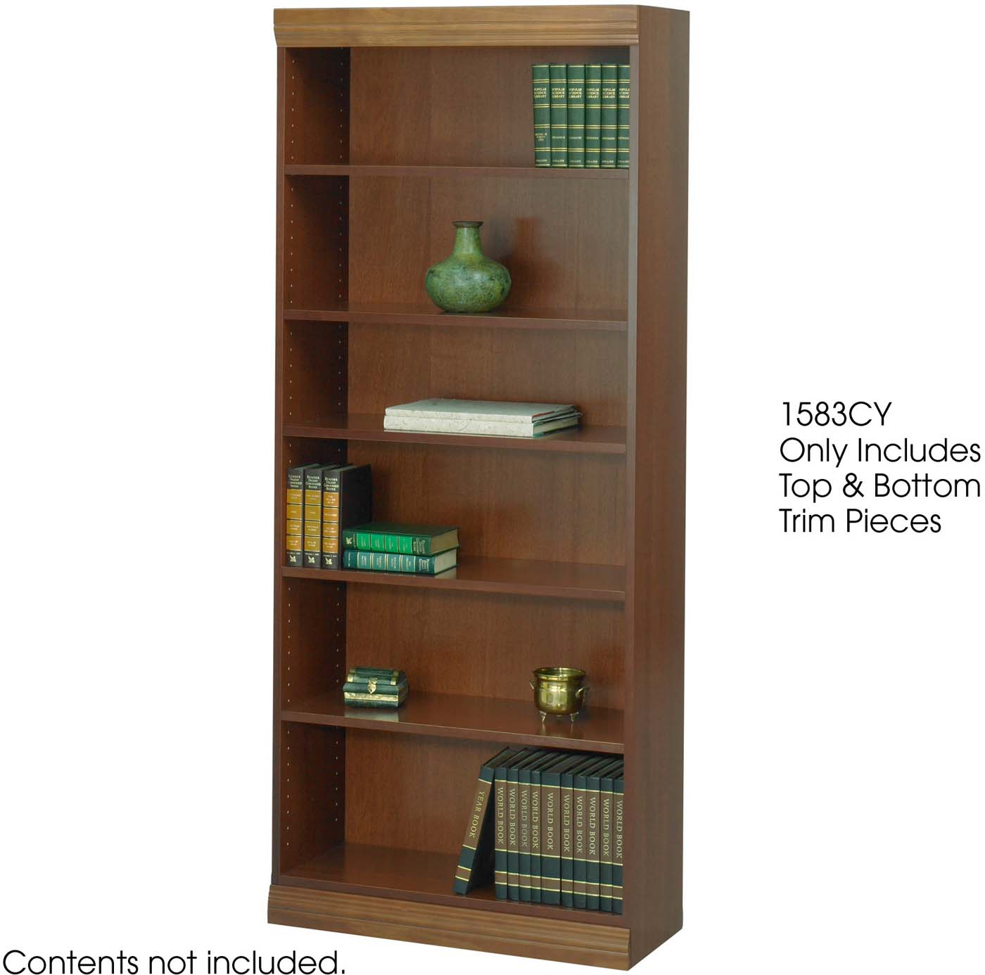Safco Baby Bookcase Trim Kits