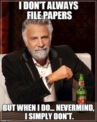 Everybody Hates Filing Papers