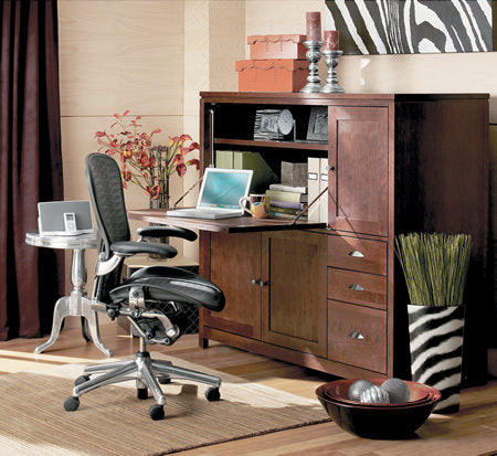 You will need to set up furniture for your home office