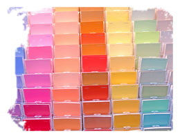 Pastel color choices to improve mood