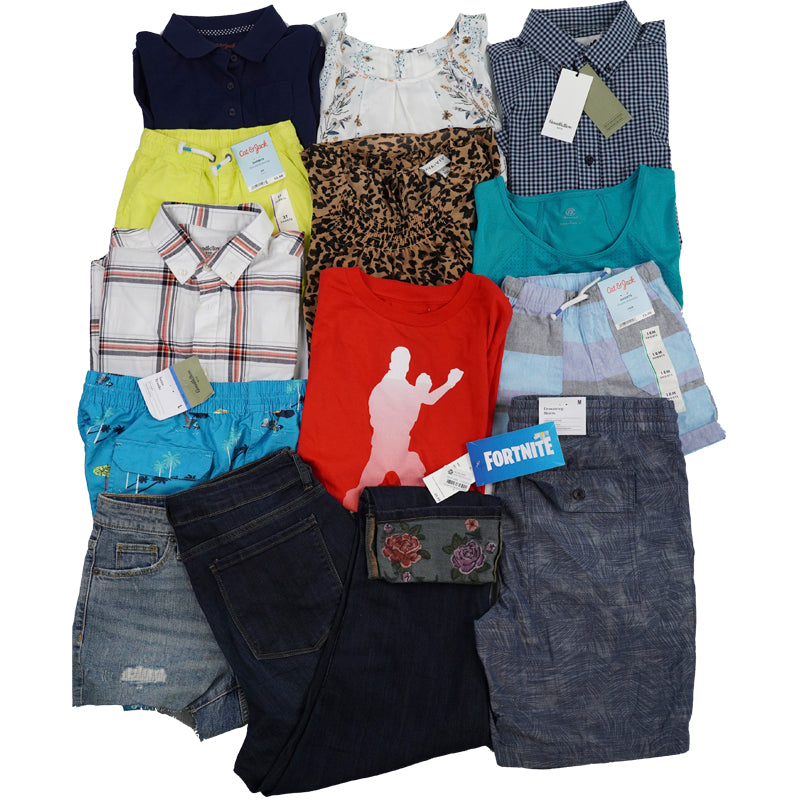 TGT/MJ Men, Women & Children Apparel