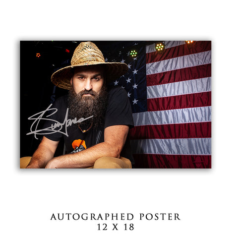 POSTER - AUTOGRAPHED USA