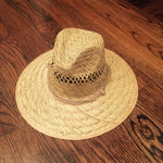 HAT - Premium Stretch Fit Straw Hat