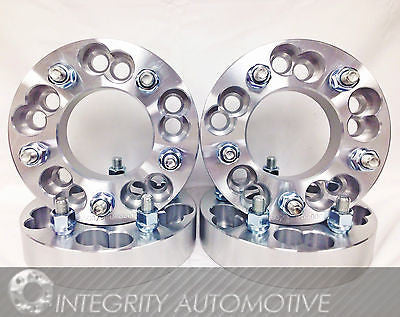 5X4.5 OR 5X4.75 TO 5X150 WHEEL ADAPTERS 1.25 INCH THICK 14X1.5 STUDS BILLET WHEEL SPACERS - Wheel Adapters USA - 1