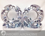 "2 Wheel Adapters Spacers 5X100 Or 5X4.25 To 5X4.75 1.25"" Inch Thick 12X1.5 Studs - Wheel Adapters USA - 10"