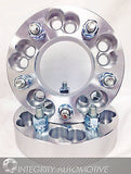 "2 Wheel Adapters Spacers 5X100 Or 5X4.25 To 5X4.75 1.25"" Inch Thick 12X1.5 Studs - Wheel Adapters USA - 8"
