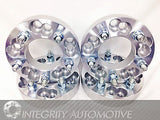 "4 Wheel Adapters Spacers 5X100 Or 5X4.25 To 5X4.75 1.25"" Inch Thick 12X1.5 Studs - Wheel Adapters USA - 7"