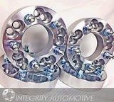 "4 Wheel Adapters Spacers 5X4.75 Or 5X5 To 5X5 1.25"" Inch Thick, 1/2X20 Studs - Wheel Adapters USA - 1"