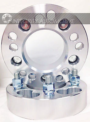 5X4.5 OR 5X4.75 TO 5X150 WHEEL ADAPTERS 1.25 INCH THICK 14X1.5 STUDS BILLET WHEEL SPACERS - Wheel Adapters USA - 11