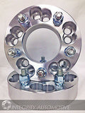 "2 Wheel Adapters Spacers 5X100 Or 5X4.25 To 5X4.75 1.25"" Inch Thick 12X1.5 Studs - Wheel Adapters USA - 1"