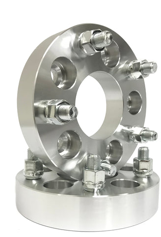 """2Pc 1.25/"""" 5x5 to 5x5.5 Wheel Spacers 1//2/"""" Adapter for 1991-1996 Buick Roadmaster"""