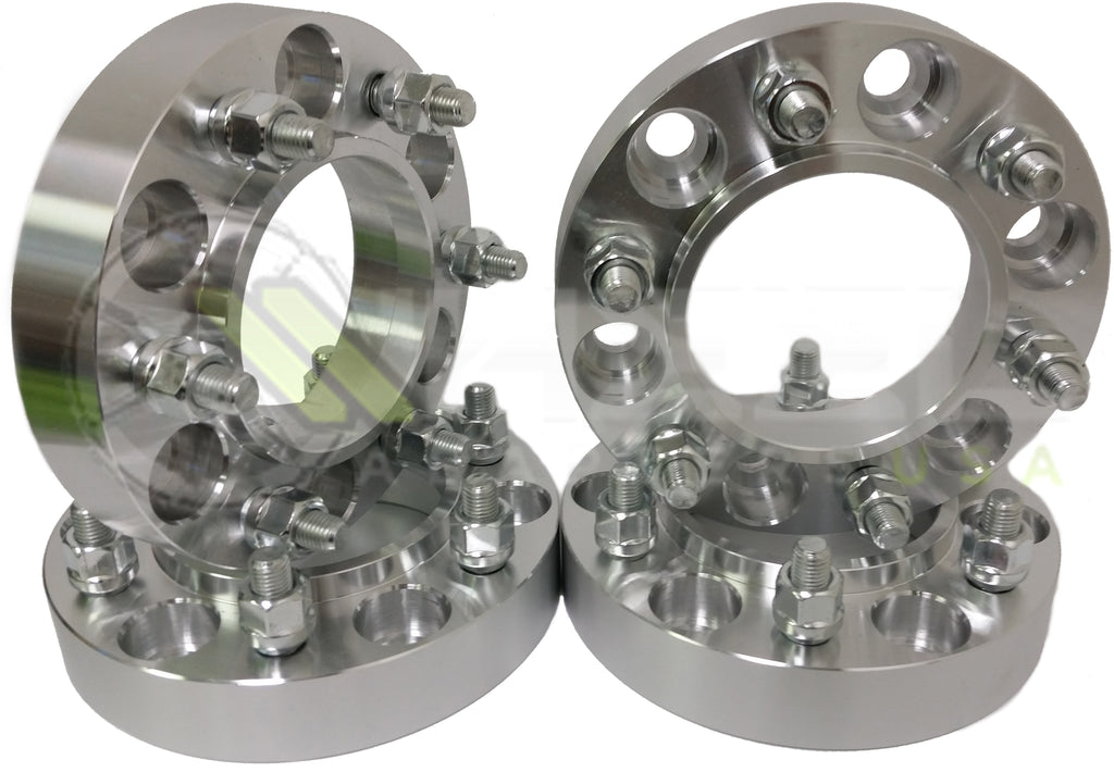 6x4.5 Hubcentric Wheel Spacers For Nissan Frontier Pathfinder Xterra Trucks | 66.1mm Center Bore With 12x1.25 Studs | 6x114.3 Wheel Spacers