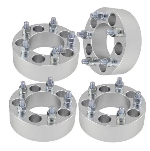 4 Wheel Adapters / Spacers 5X5.5 To 5X5 | 2 Inch 50mm | CJ to JK / JL | 5X139.7 To 5X127 | 1/2x20