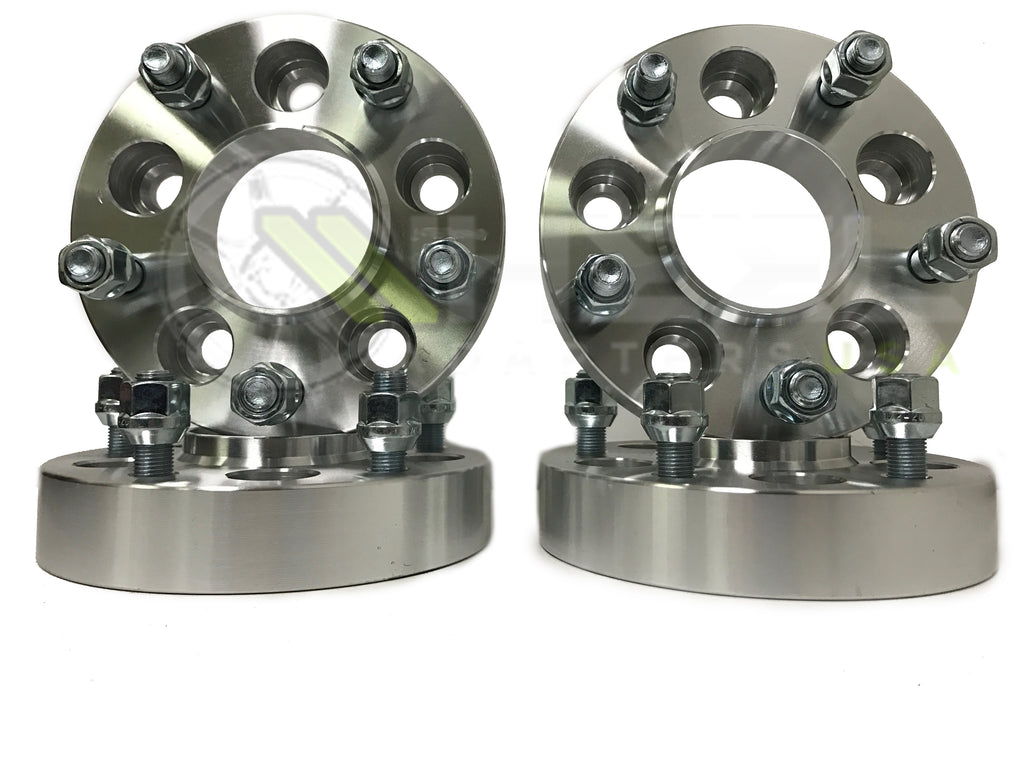(4) 5x150 Hubcentric Wheel Spacers | 14x1.5 Studs For Sequoia Tundra TRD SR5 Trucks