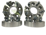 (2) 5x150 Hubcentric Wheel Spacers | 14x1.5 Studs For Sequoia Tundra TRD SR5 Trucks