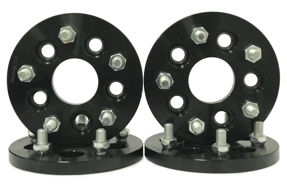 """4 Wheel Spacers Adapters ¦ 5x4.75 To 5x120 ¦ 1.25/"""" ¦ 14x1.5 Studs"""