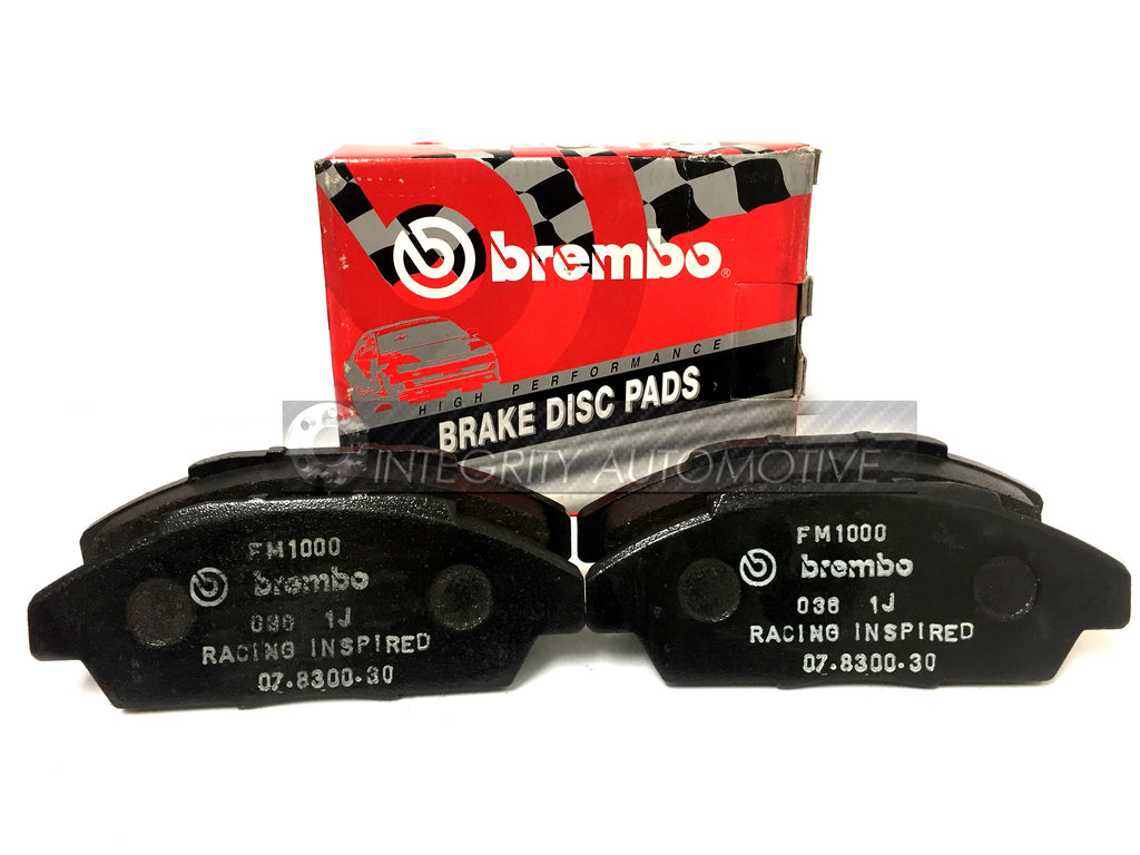4 Honda Accord Front Brake Pads Brembo | Fits Accord 90-93 Front Calipers