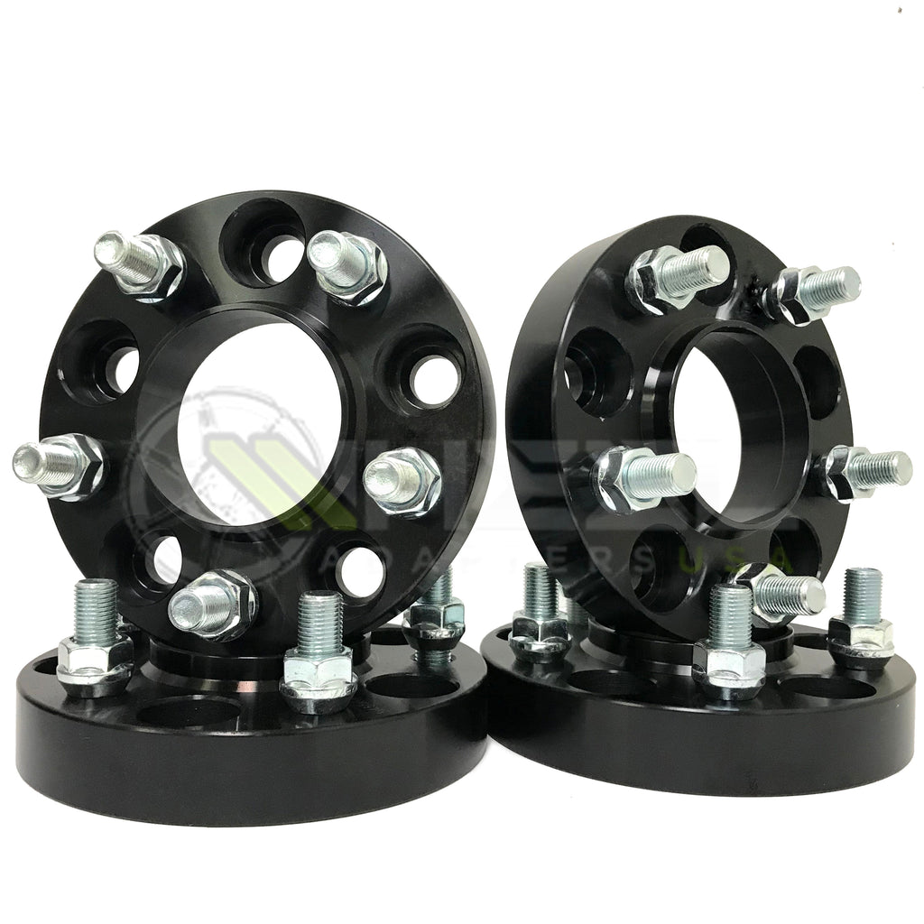 "5x114.3 US Wheel Adapters 1.25/"" Thick 14x1.5 Studs 71.5 bore x4 5x115 to 5x4.5"