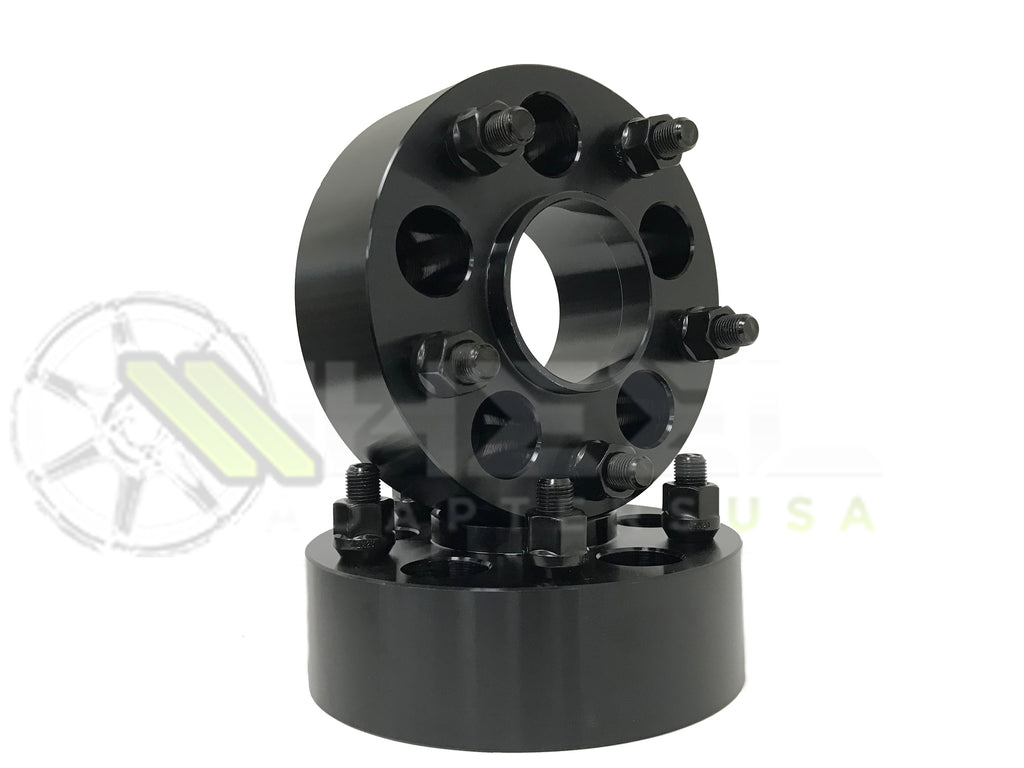 2 5x135 Hub Centric Wheel Adapter Spacers 1 5 2 Inch Thick In Stock For Ford F 150 12x1 75 Wheel Centric For Oem Wheels