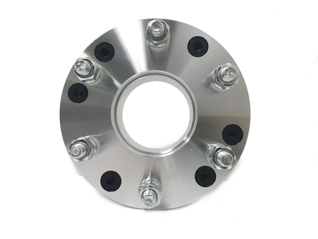 "1 WHEEL ADAPTER 5x5 TO 6x5.5 | USE 6 LUG WHEEL ON 5 LUG CAR | 2"" INCH THICK 