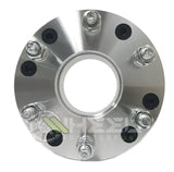 "2 WHEEL ADAPTERS 5x4.5 TO 6x5.5 | USE 6 LUG WHEELS ON 5 LUG CAR | 2"" INCH THICK 