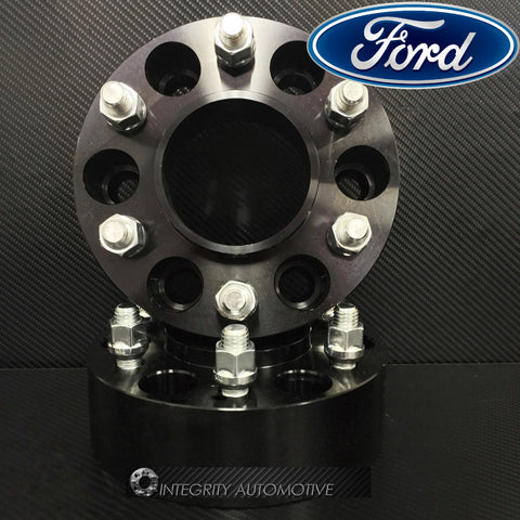 2 WHEEL SPACERS 6X135 1.5 INCH HUB CENTRIC FORD RAPTOR F150 EXPEDITION NAVIGATOR - Wheel Adapters USA - 1