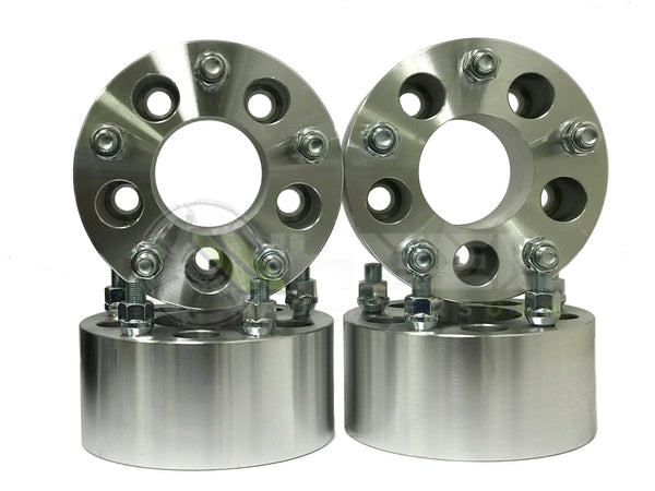 """Set of 2 5x4.75mm 12x1.50mm Thread Pitch 1.25/"""" Thick Wheel Spacer fits Chevy S10"""