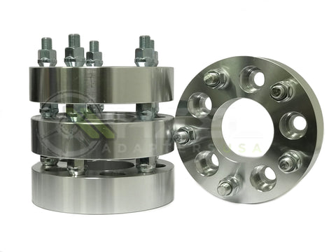 "5x5 To 5x120 Wheel Adapter Spacers 1.25"" Use 5x120 Wheels on 5x127 Chevy and Jeeps!"