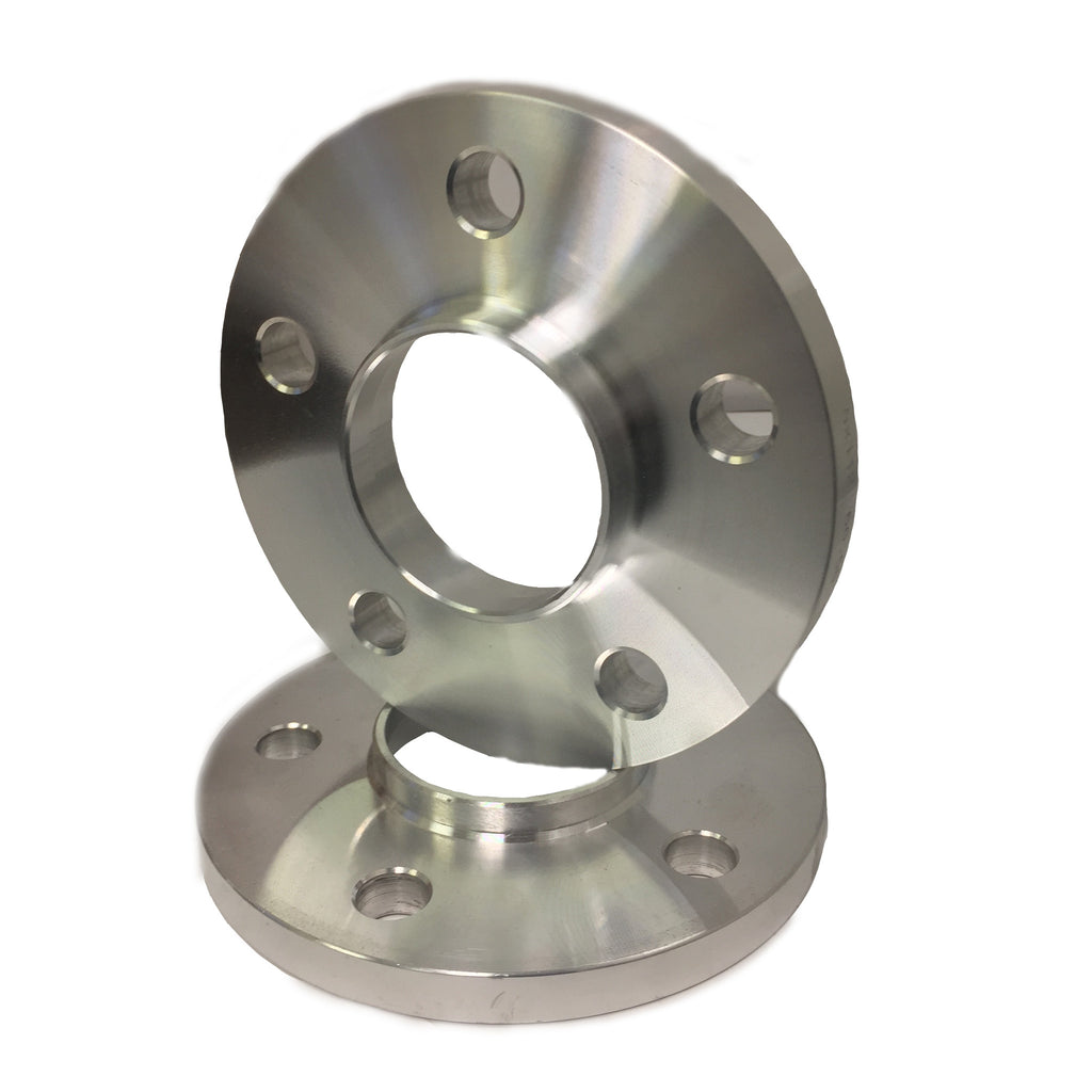 """5x120 to 5x130 US Wheel Adapters 1/"""" Thick 12x1.5 Lug Studs 72.6 bore Spacers x 4"""