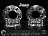 2) 5x4.5 Jeep Wheel Spacers 5x114.3 1 inch, 1.25 inch, 1.5 inch, 2 inch, 2.5 inch, 3 inch Fits Cherokee, Wrangler, Comanche, Chief, Grand Cherokee & Liberty