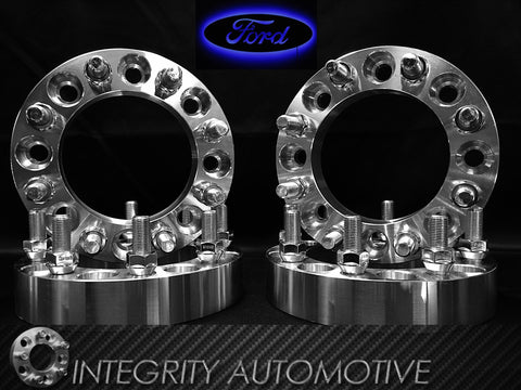 8X170 Wheel Spacers 2 Inch 03-16 Ford F-250 F-350 Superduty Excursion (50MM) 8 LUG ADAPTERS 14x1.5 - Wheel Adapters USA - 1